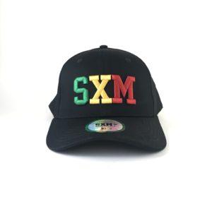 Casquette SXM vert jaune rouge